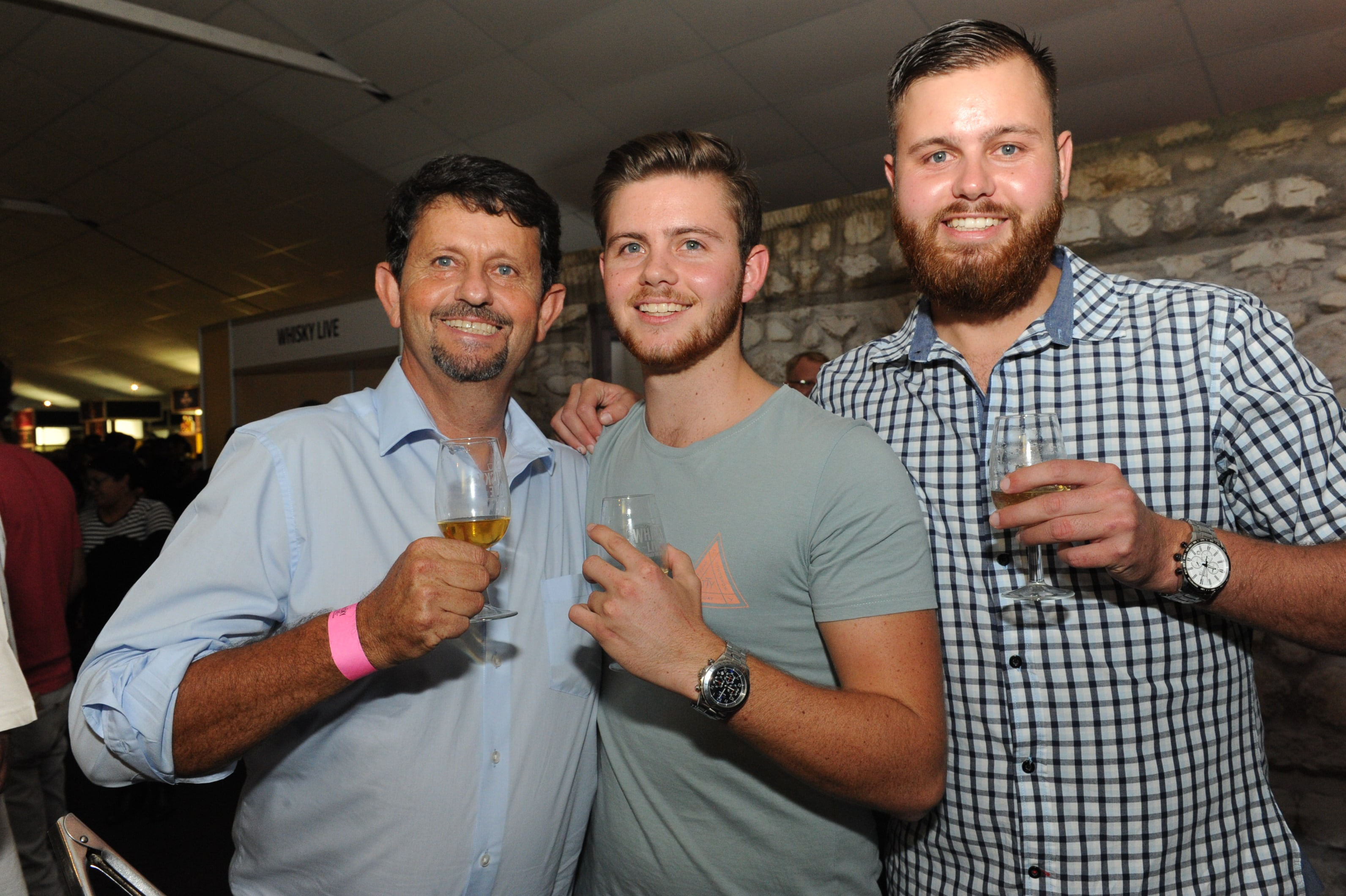"""<img alt=""""Whisky Live-CT-Tiaan, Nardus and Werner Krause"""">"""